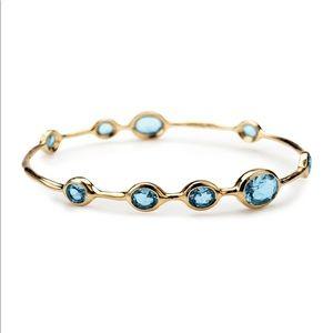 Ippolita 18K Rock Candy 9-Stone Bangle Bracelet